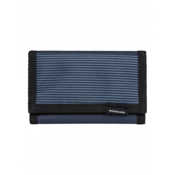 Quiksilver QUIKSILVER THE EVERYDAILY-TRI-FOLD WALLET-BLUE