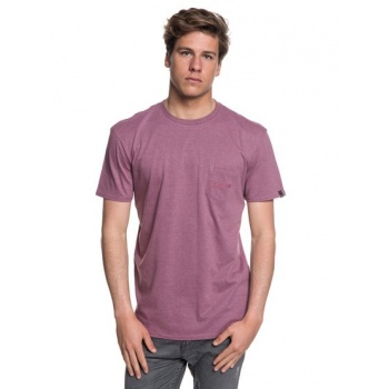 Quiksilver QUIKSILVER THE STITCH UP-POCKET T-SHIRT FOR MEN-PINK