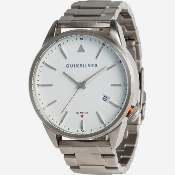 Quiksilver QUIKSILVER THE TIMEBOX METAL-ANALOGUE WATCH FOR MEN-GREY