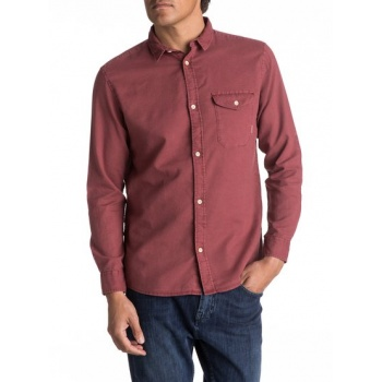 Quiksilver QUIKSILVER TIME BOX-LONG SLEEVE SHIRT FOR MEN-RED
