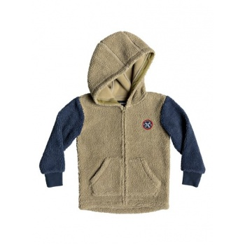 Quiksilver QUIKSILVER TORI GATES-ZIP-UP SHERPA HOODIE FOR BOYS 2-7-BLUE