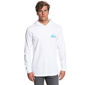 Quiksilver QUIKSILVER VICE VERSA-LONG SLEEVE HOODED T-SHIRT FOR MEN-WHITE