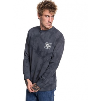 Quiksilver QUIKSILVER VOLCANIC OCEAN-SWEATSHIRT FOR MEN-BLACK