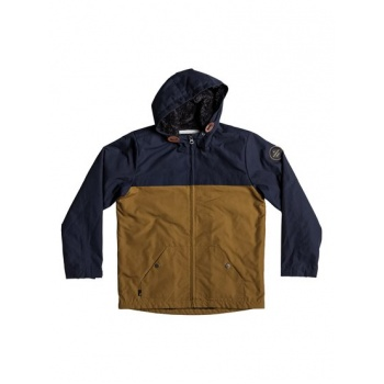 Quiksilver QUIKSILVER WANNA DWR-WATER-REPELLENT HOODED JACKET FOR BOYS 8-16-BLUE