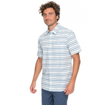 Quiksilver QUIKSILVER WATERMAN FLYING FIRST-SHORT SLEEVE SHIRT FOR MEN-BLUE