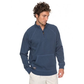 Quiksilver QUIKSILVER WATERMAN GREAT WAVE-1/2 ZIP SWEATSHIRT FOR MEN-BLUE