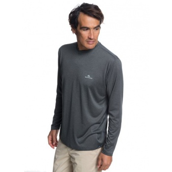 Quiksilver QUIKSILVER WATERMAN HEAT RUNNER-LONG SLEEVE T-SHIRT FOR MEN-BLACK