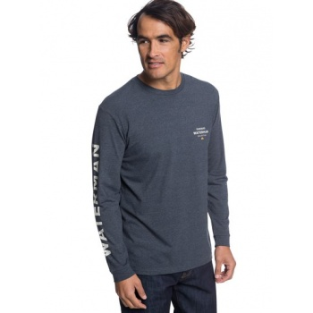 Quiksilver QUIKSILVER WATERMAN RIGHTY-LONG SLEEVE T-SHIRT FOR MEN-BLACK