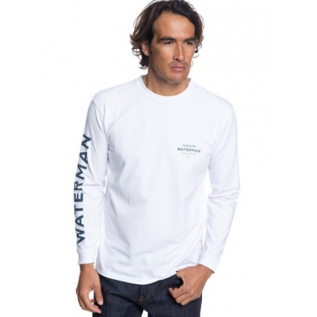Quiksilver QUIKSILVER WATERMAN RIGHTY-LONG SLEEVE T-SHIRT FOR MEN-WHITE