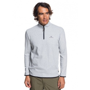 Quiksilver QUIKSILVER WATERMAN SEA EXPLORER-TECHNICAL HALF-ZIP SWEATSHIRT FOR MEN-GREY