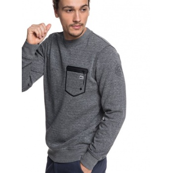 Quiksilver QUIKSILVER YATTEMI-TECHNICAL SWEATSHIRT FOR MEN-BLACK
