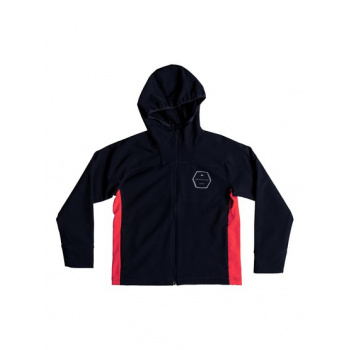 Quiksilver QUIKSILVER ZAO ONSEN-WATER-RESISTANT SOFTSHELL JACKET FOR BOYS 8-16-BLUE