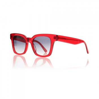 Raen Raen Myer Sunglasses Gradient Smoke Red Crys