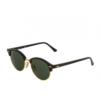 Ray-ban RAY-BAN CLUBROUND SUNGLASSES BLACK/GREEN