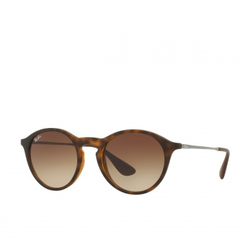 Ray-ban RAY-BAN RB4243 SUNGLASSES RUBBER HAVANA/ BROWN GRADIENT DARK BROWN
