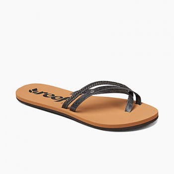 Reef REEF WOMENS SANDALS O'CONTRARE LX IN BLACK UK 4