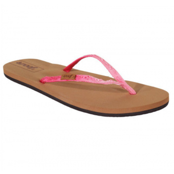 Reef REEF WOMENS SANDALS SLIM GINGER IN OMBRE PINK/OMBRE UK 3