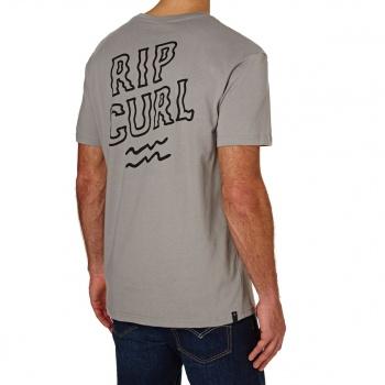 Rip Curl RIP CURL ARTY MODERN T-SHIRT GREY FLANNEL