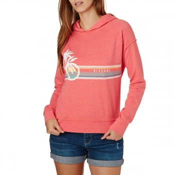 Rip Curl RIP CURL ENDLESS SUMMER FLEECE HOODY FRAGOLA