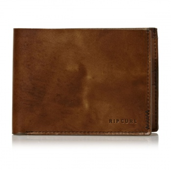 Rip Curl RIP CURL HANDCRAFTED ALL DAY WALLET BROWN