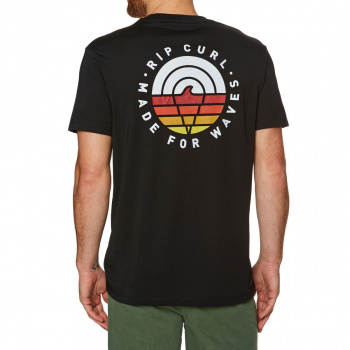 Rip Curl RIP CURL MADE FOR WAVES T-SHIRT BLACK
