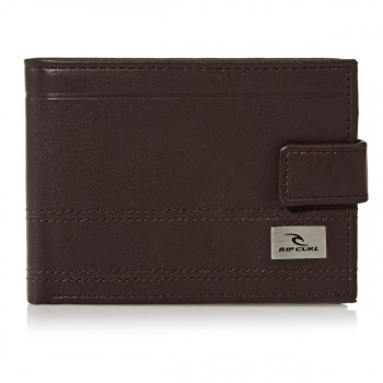 Rip Curl RIP CURL REFLECT CLIP PU ALL DAY WALLET BROWN