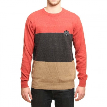 Ripcurl Ripcurl Blocked Jumper Tango Red