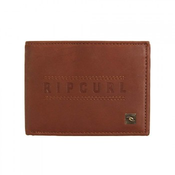 Ripcurl Ripcurl Classic RFID All Day Leather Wallet Brown