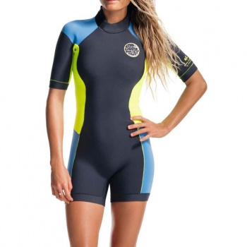Ripcurl Ripcurl Dawn Patrol Spring Shorty Wetsuit Blue