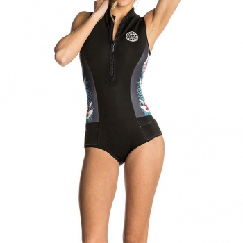 Ripcurl Ripcurl G Bomb Capsleeve Shorty Wetsuit Black Sub