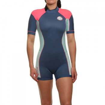 Ripcurl Ripcurl Ladies Dawn Patrol Shorty Wetsuit Blue