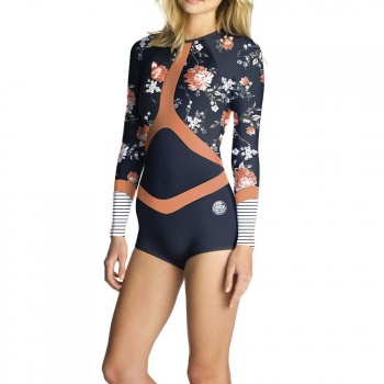 Ripcurl Ripcurl Madi Long Sleeve Shorty Wetsuit Navy