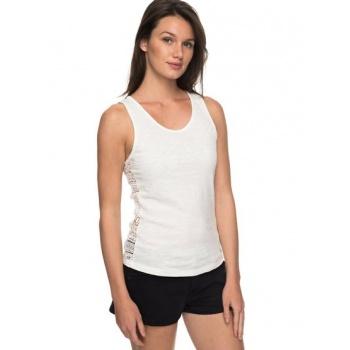 Roxy ROXY ALOHA SUN-VEST TOP FOR WOMEN-WHITE