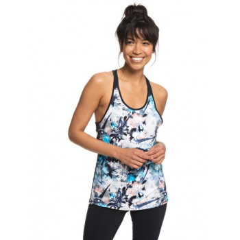 Roxy ROXY BE YOU-TECHNICAL VEST TOP FOR WOMEN-BLUE