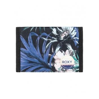 Roxy ROXY BEACH GLASS-HOOK & LOOP WALLET FOR WOMEN-BLACK