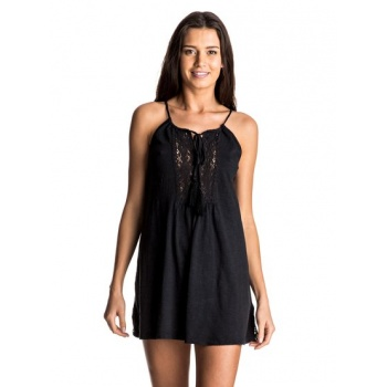 Roxy ROXY BLACK WATER-STRAPPY DRESS FOR WOMEN-BLACK