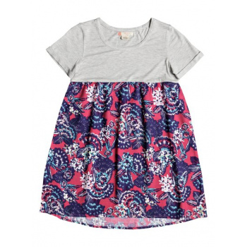 Roxy ROXY BRANCHE OF LILAC-T-SHIRT DRESS FOR GIRLS 8-16-PINK