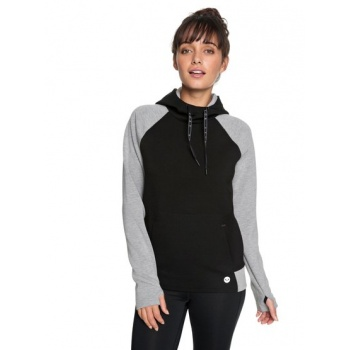Roxy ROXY BY HERE NOW-BONDED HOODIE FOR WOMEN-BLACK