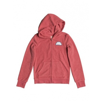 Roxy ROXY COLORFUL MATTER-ZIP-UP HOODIE FOR GIRLS 8-16-PINK