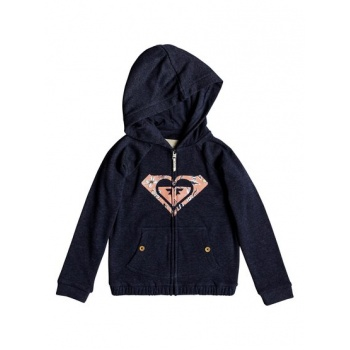 Roxy ROXY COMING IN TAILS-ZIP-UP HOODIE FOR GIRLS 2-7-BLUE