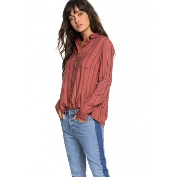 Roxy ROXY CONCRETE STREETS-LONG SLEEVE SHIRT FOR WOMEN-PINK