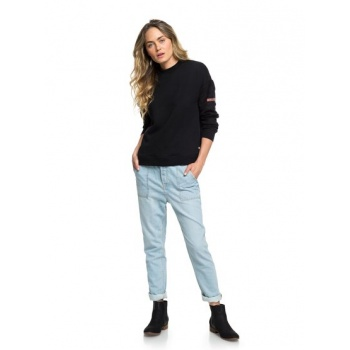 Roxy ROXY CRAZY NIGHT-RELAXED FIT JEANS FOR WOMEN-BLUE