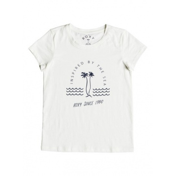 Roxy ROXY DREAM ANOTHER DREAM IN THE SEA-T-SHIRT FOR GIRLS 8-16-WHITE