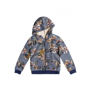 Roxy ROXY EARTH GROOVE-ZIP-UP HOODIE FOR GIRLS 8-16-BLUE
