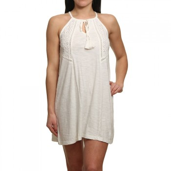 Roxy Roxy Enchanted Island Dress Marshmallow