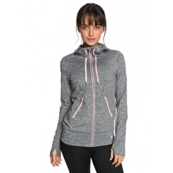 Roxy ROXY EVERY LITTLE THINGS-ZIP-UP HOODIE FOR WOMEN-BLACK