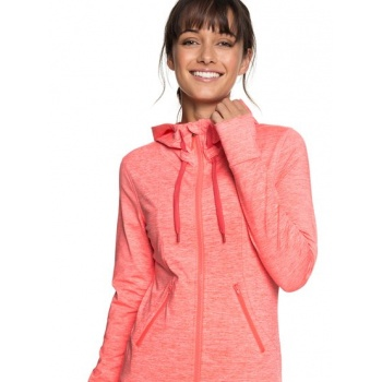 Roxy ROXY EVERY LITTLE THINGS-ZIP-UP HOODIE FOR WOMEN-RED