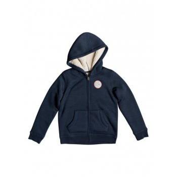 Roxy ROXY FEEL HER BREATH SEARCH FOR THE S-ZIP-UP HOODIE FOR GIRLS 8-16-BLUE