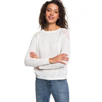 Roxy ROXY FIND YOUR WINGS-JUMPER FOR WOMEN-WHITE