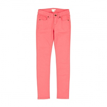 Roxy ROXY GIRLS GOLDEN LEAVES SLIM FIT JEANS SUGAR CORAL
